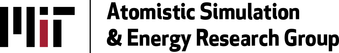 MIT Atomistic Simulation & Energy Research Group